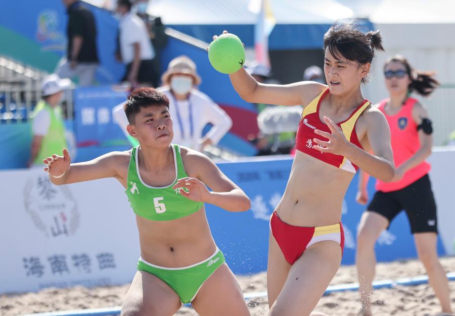 """沙灘手球—— """"美麗三亞""""邀請賽今日開賽"""