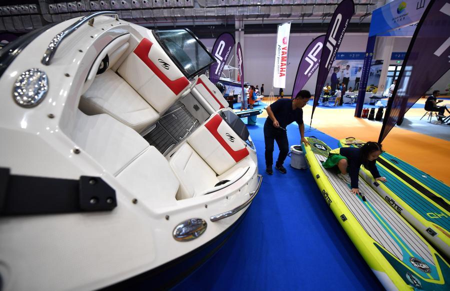 海南舉行國際旅遊裝備博覽會