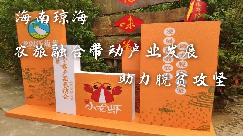 海南瓊海:農旅融合帶動産業發展 助力脫貧攻堅