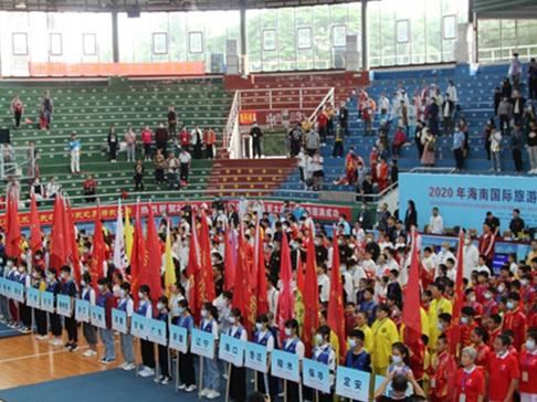2020年海南國際旅遊島亞太武術公開賽瓊海開賽