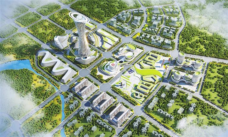 火箭院海南分院怎麼建?看看規劃設計圖
