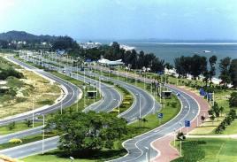 海南環島旅遊公路開建