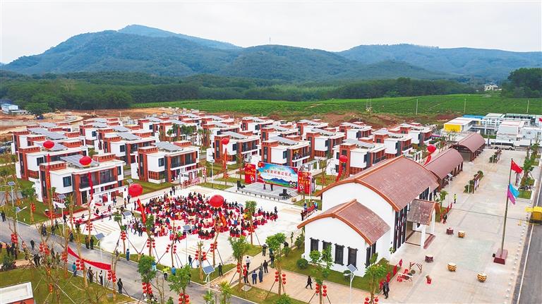 白沙高峰村完成生態搬遷原址