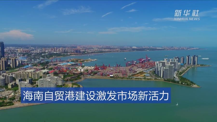 海南自貿港建設激發市場新活力