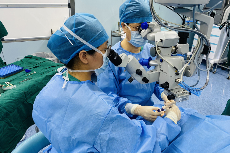 治療年齡相關性黃斑變性新藥 博鰲樂城完成首針注射