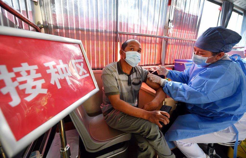海口:疫苗接種車服務送上門
