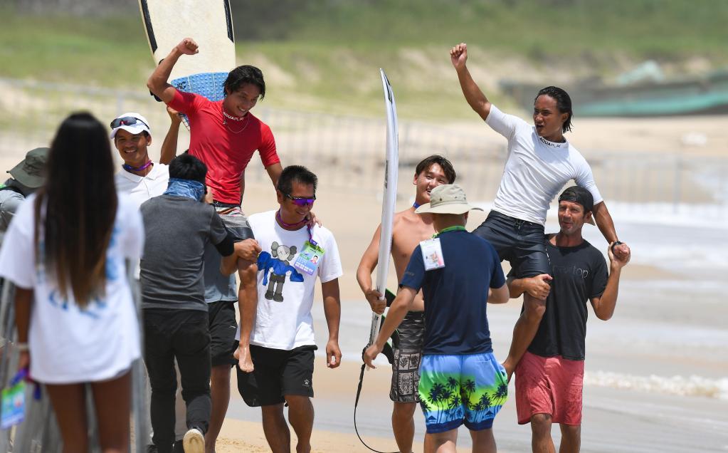 衝浪——男子短板決賽賽況