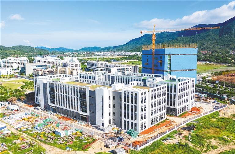 招商三亞深海裝備産業園研發廠房竣工